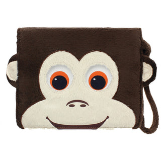 "Tabzoo Interactive Universal 8"" Tablet Monkey Folio Case"