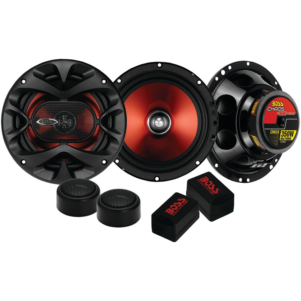 "Boss Audio Chaos Exxtreme Series 6.5"" 350-watt 2-way Component Speaker System"