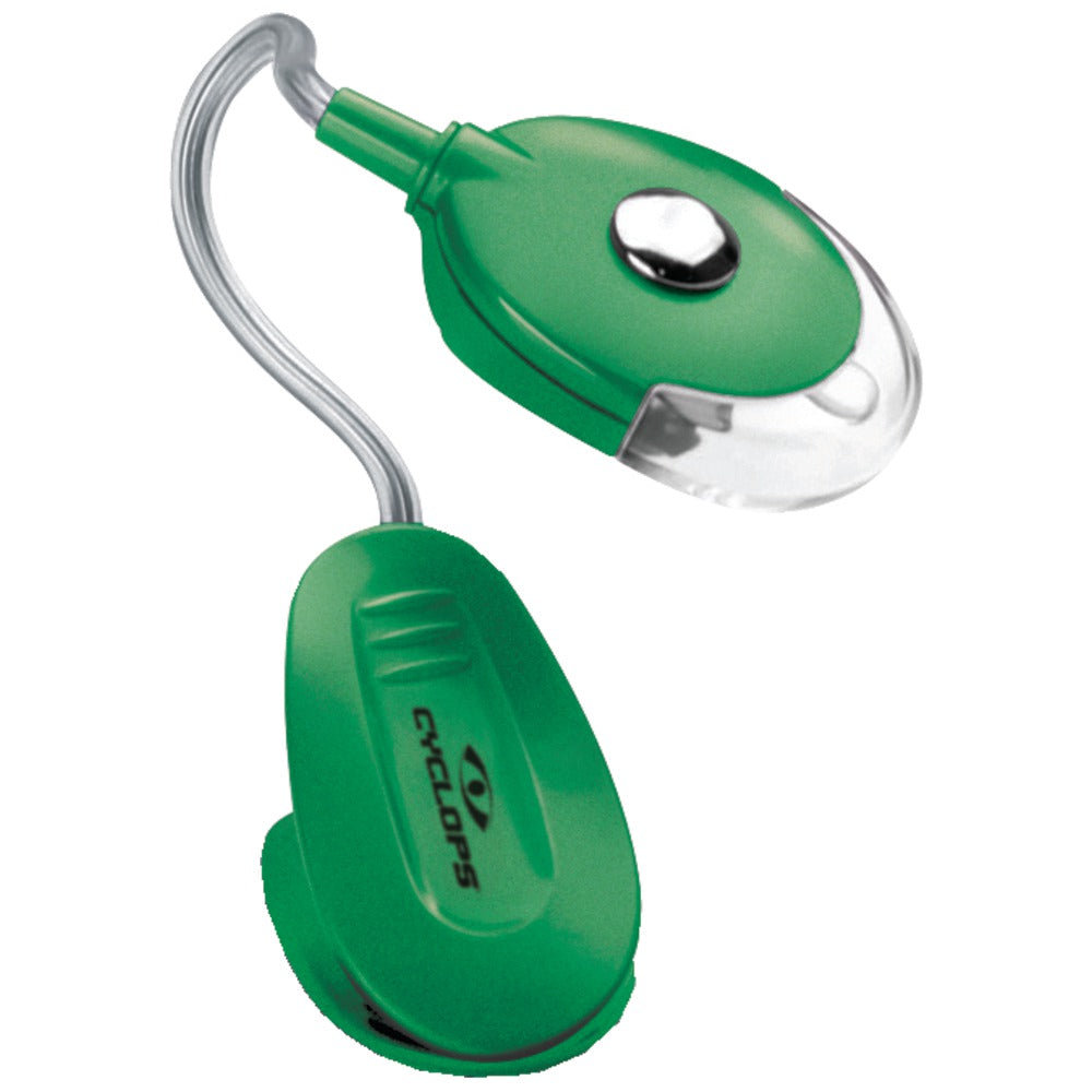 Cyclops 4.5-lumen Multitask Led Utility Clip Light (green)