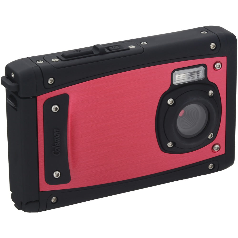 Coleman 20.0-megapixel Venturehd 1080p Underwater Digital Camera (red)