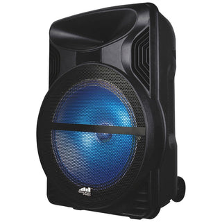 Naxa 2500-watt Portable Karaoke Speaker With Bluetooth