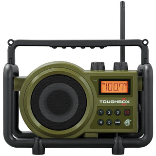 Sangean Toughbox Fm And Am And Aux Ultra-rugged Digital Rechargeable Radio