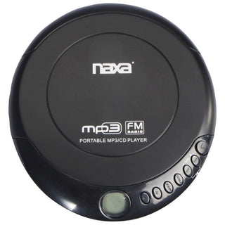 Naxa Slim Personal Anti-shock Cd Player And Fm Radio