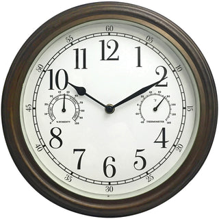 "Westclox 12"" Indoor And Outdoor Wall Clock"