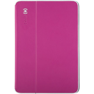Speck Durafolio Case For Ipad Air 2 (fuchsia Pink And White And Slate Gray)