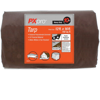 World And Main Heavy-duty Tarp (12ft X 16ft)