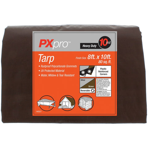 World And Main Heavy-duty Tarp (8ft X 10ft)
