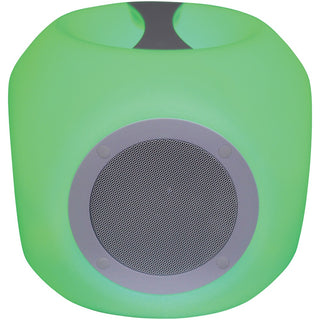 Sylvania Water-resistant Color-changing Bluetooth Outdoor Speaker