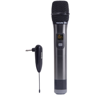 Karaoke Usa Wm900 900mhz Uhf Wireless Handheld Microphone