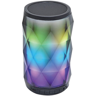 Sylvania Portable Bluetooth Diamond Speaker With Color-changing Lights & Touch Control