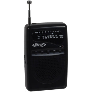 Jensen Mr80 Am And Fm Portable Pocket Radio