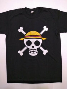 One Piece Luffy Skull inspired Unisex t shirt