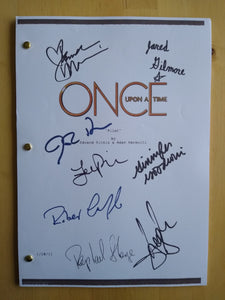 Once Upon a Time  Film Script with Reprinted Autographs