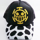 One Piece Trafalgar Law Anime Breathable Mesh Cap