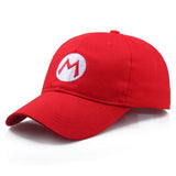Super Mario Red Baseball Breathable Mesh Cap