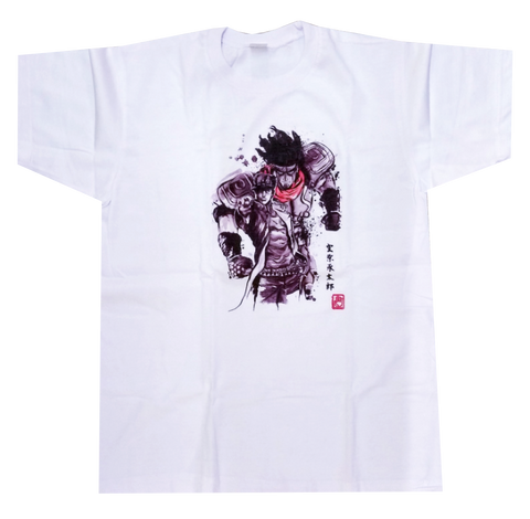 JoJo's Bizarre Adventure White Star Platinum Anime Unisex T-Shirts