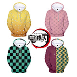 Copy of Demon Slayer Kimetsu no Yaiba Nezuko hoodie Women/men Winter