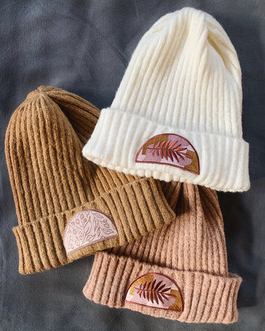 Patch Play Winter Beanie