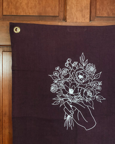 Kindness Linen Wallhanging