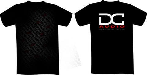 DC Red & Black Fade T Shirt