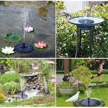 Load image into Gallery viewer, Clever Spring™️- Solar Power Water Fountain