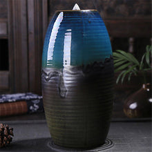 Load image into Gallery viewer, Waterfall Incense Backflow Ceramic Burner