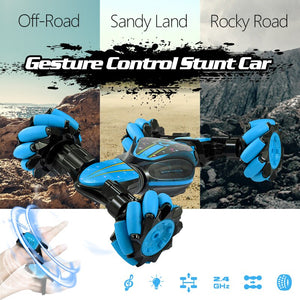 Gesture Controlled Smart Car