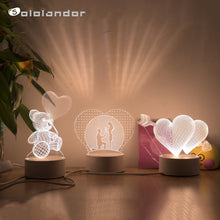 Load image into Gallery viewer, Customized Holiday Gift Lamp
