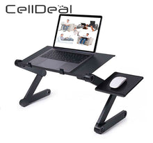 Load image into Gallery viewer, Adjustable Ergonomic Portable Aluminum Laptop Desk