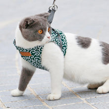 Load image into Gallery viewer, Cat Vest Harness and Leash Set