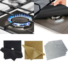 Load image into Gallery viewer, Reusable Gas Burner Mat