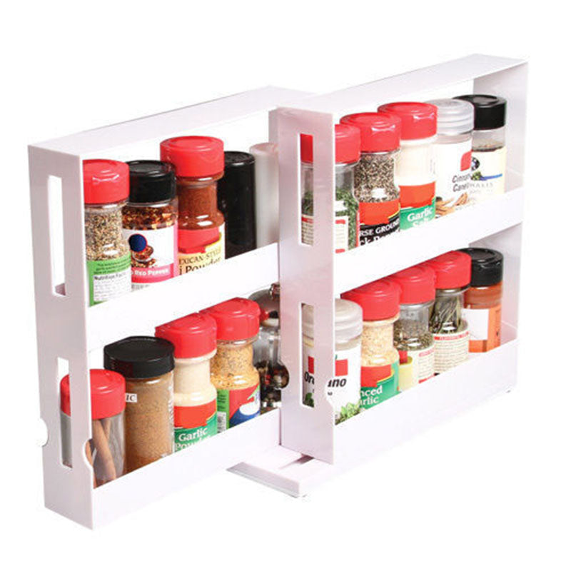Multi-Function Rotating Storage Shelf
