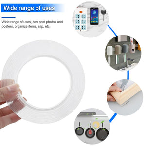 Double Sided Transparent Nano Tape