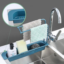 Load image into Gallery viewer, Adjustable Telescopic Sink Rack