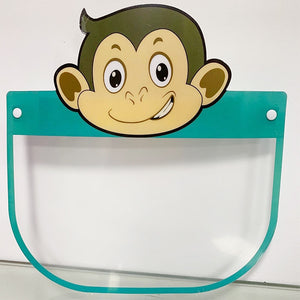 Kids Cartoon Face Shields