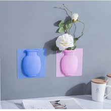 Load image into Gallery viewer, 3 Piece Silicone Wall Vase for Flowers