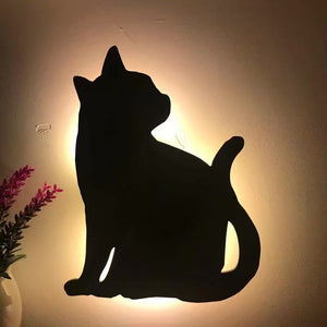 Cat Wall Sensor Light