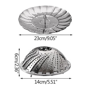 Folding Steam Dish