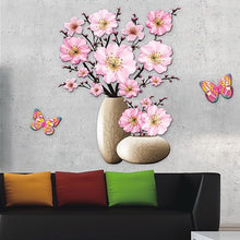 Load image into Gallery viewer, 3D Rose Wall Sticker