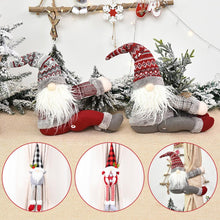Load image into Gallery viewer, Christmas Curtains Santa Claus Reindeer