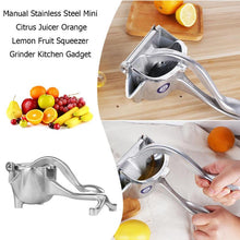 Load image into Gallery viewer, Hand Manual Juicer Kitchen Tools Orange Squeezer