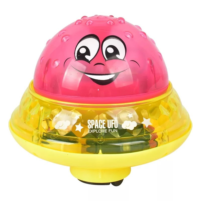 Electric Induction Sprinkler Ball Light Musical Baby Water Spray