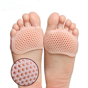 Silicone padded forefoot