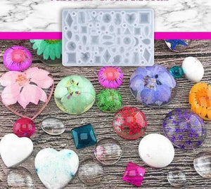 DIY Crystal Glue Jewelry Mold Set Handmade