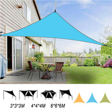 Load image into Gallery viewer, Outdoor Triangle Sunshade