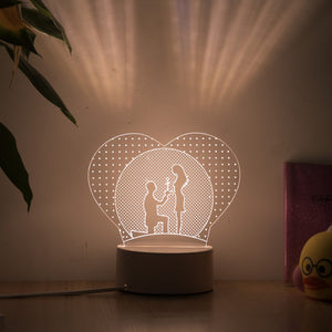 Customized Holiday Gift Lamp