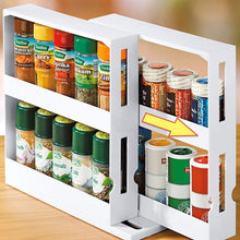 Load image into Gallery viewer, Multi-Function Rotating Storage Shelf
