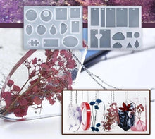 Load image into Gallery viewer, DIY Crystal Glue Jewelry Mold Set Handmade