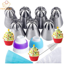 Load image into Gallery viewer, Cake Decor Piping Nozzle Set
