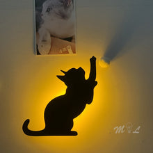 Load image into Gallery viewer, Cat Wall Sensor Light
